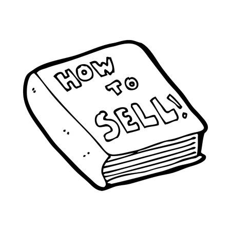how: dibujos animados c�mo vender libros Vectores