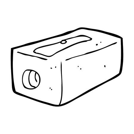 sharpener: cartoon pencil sharpener