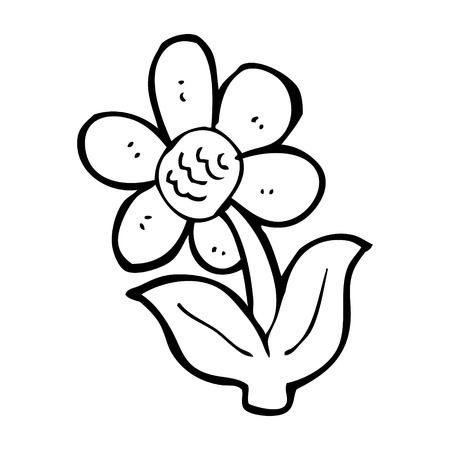 beeldverhaal bloem
