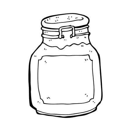 conserve: confiture de bande dessin�e pr�server