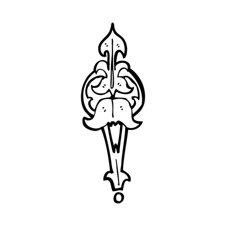 clasp: cartoon ornate clasp