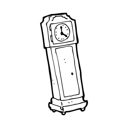 268 Grandfather Clock Stock Vector Illustration And Royalty Free ...