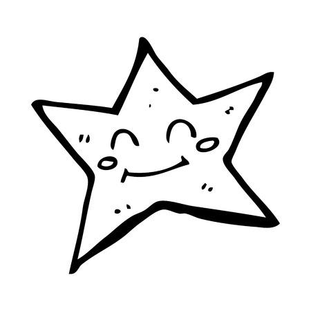 estrella caricatura: personaje estrella de la historieta