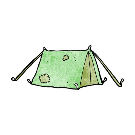 cartoon traditional tent Vector