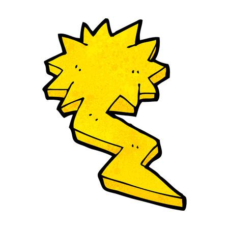 cartoon lightning bolt symbol Stock Vector - 25533232