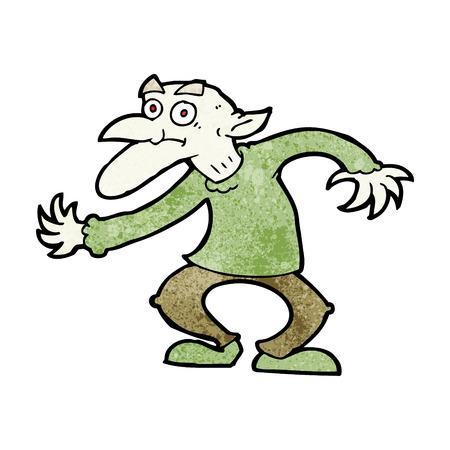 quirky: cartoon goblin