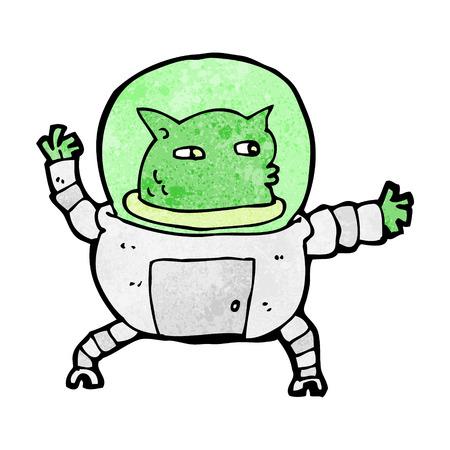 cartoon alien Stock Vector - 25556585