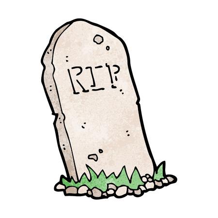 cartoon spooky grave
