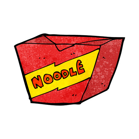 takeout: cartoon noodle box