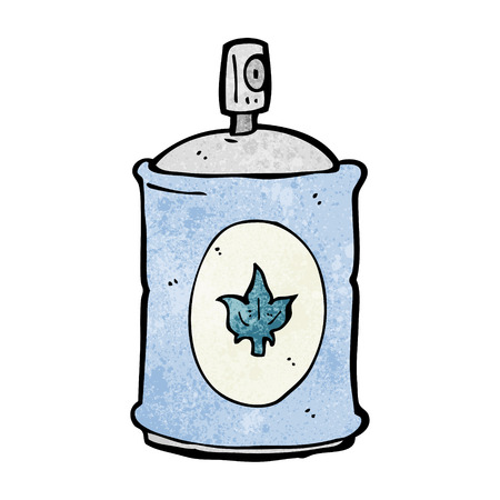 fragrance: cartoon fragrance spray Stock Illustratie