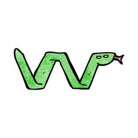 cartoon schlange: Cartoon-Schlange Symbol