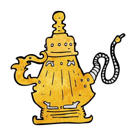 cartoon hookah