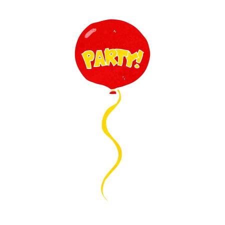 cartoon party balloon Vector