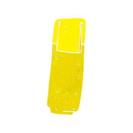 marker pen: cartoon marker pen