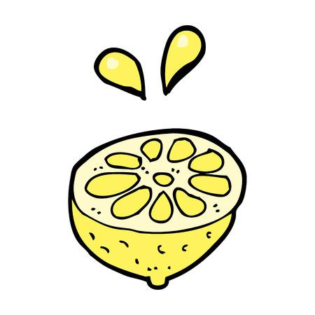 Dibujos Animados De Limón Fresco Ilustraciones Vectoriales, Clip ...