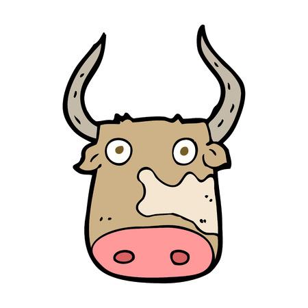 funny ox: cartoon cow