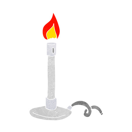 bunsen burner: cartoon bunsen burner