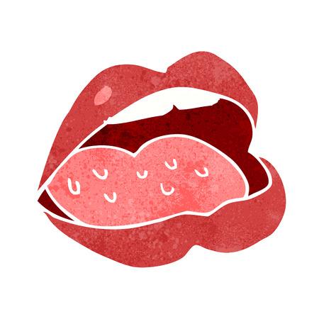 cartoon open mouth