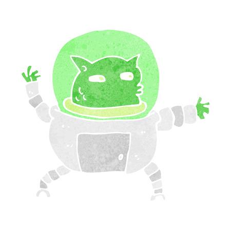 cartoon alien Stock Vector - 26136762