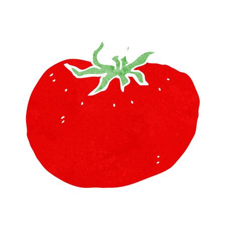 tomato cartoon: cartoon tomato Illustration