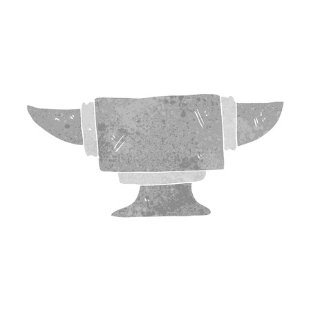 anvil: cartoon blacksmith anvil