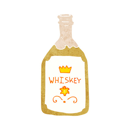 whiskey bottle: botella de whisky de dibujos animados