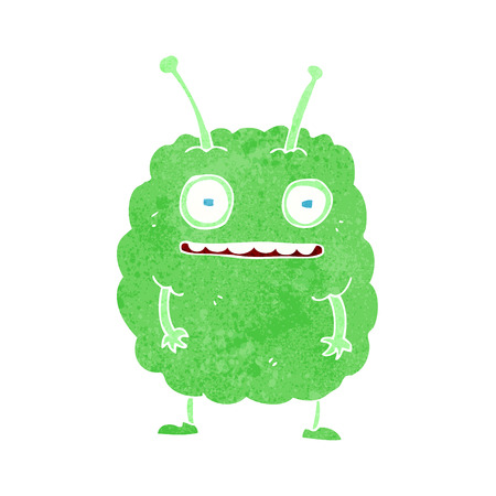 cartoon funny alien monster Stock Vector - 26257770