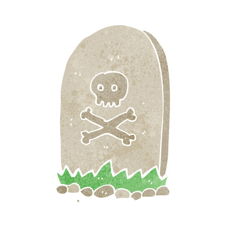 cartoon grave Vector