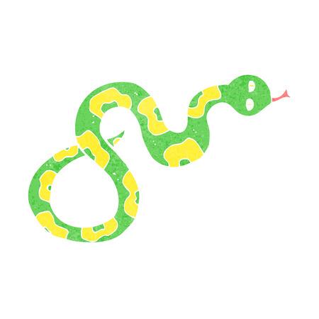 hissing: cartoon snake Illustration