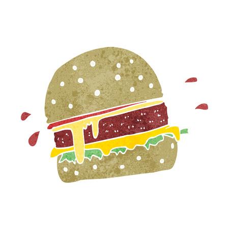 burger cartoon: cartoon burger