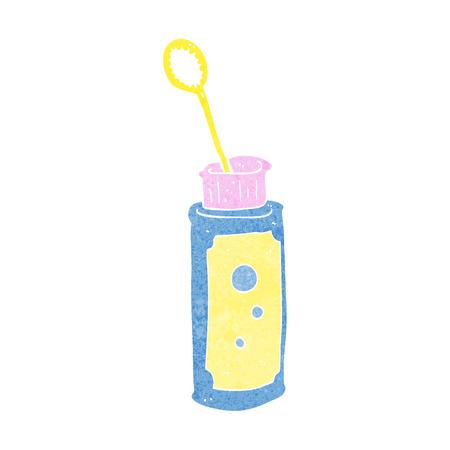 blower: cartoon bubble blower Illustration