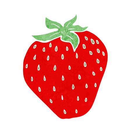 cartoon strawberry