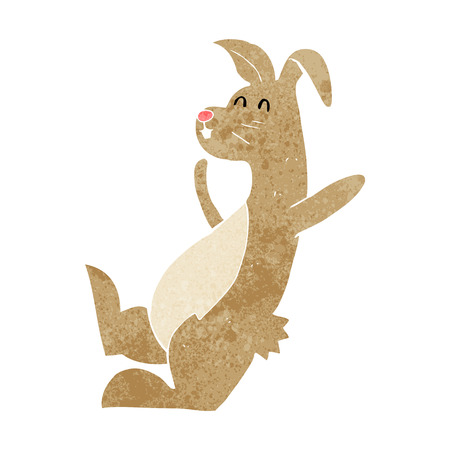 cartoon hare Vector