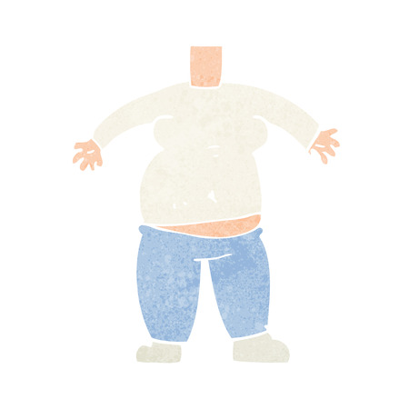 cartoon body (mix and match cartoons or add your own photo head) Vector