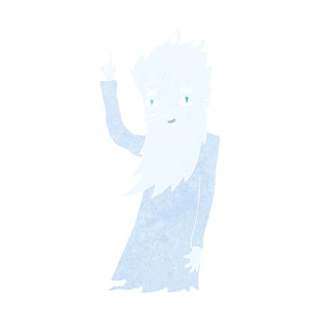 jack frost: jack frost de dibujos animados