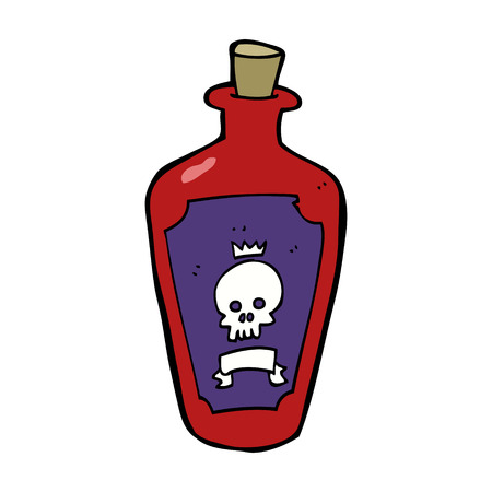 poison: cartoon poison
