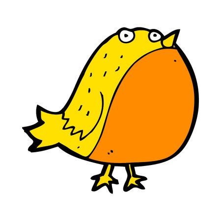 fat bird: cartoon fat bird