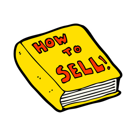 how to: cartoon how to sell book