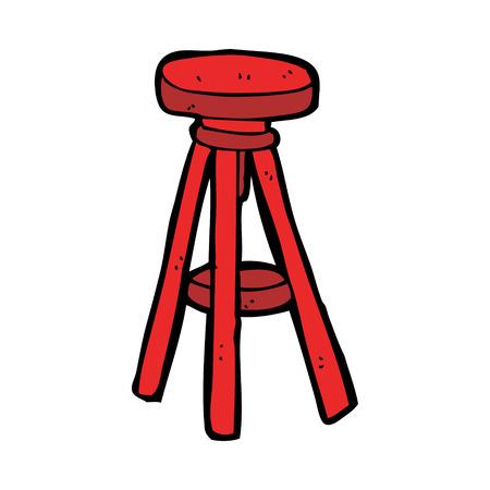 cartoon stool Illustration