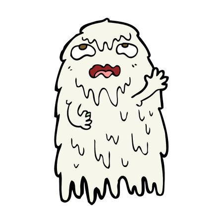 grosse: fant�me de bande dessin�e brut