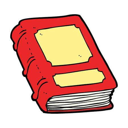dibujos animados libro antiguo