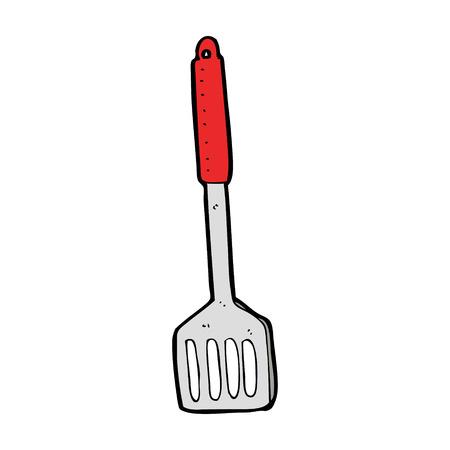 cartoon kitchen: cartoon kitchen spatula