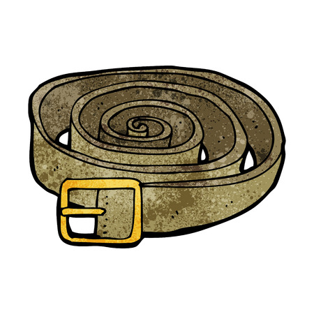 leather belt: cartoon leather belt