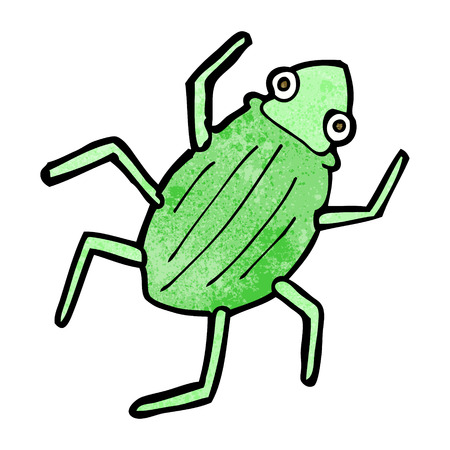 cartoon bug Vector