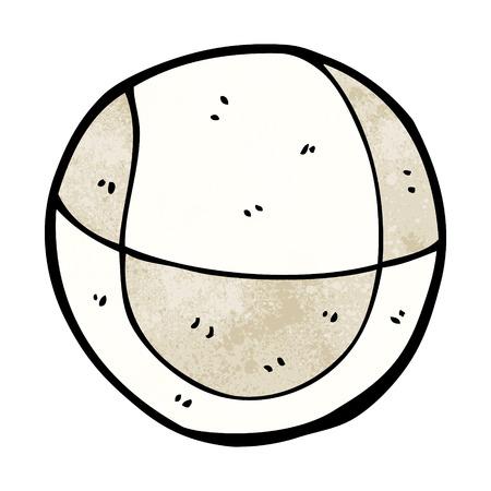 pelota caricatura: bola de la historieta Vectores