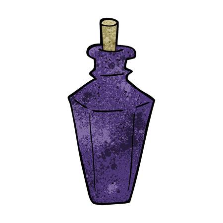 fragrance: cartoon parfum geur fles