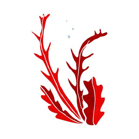 cartoon zeewier Stock Illustratie