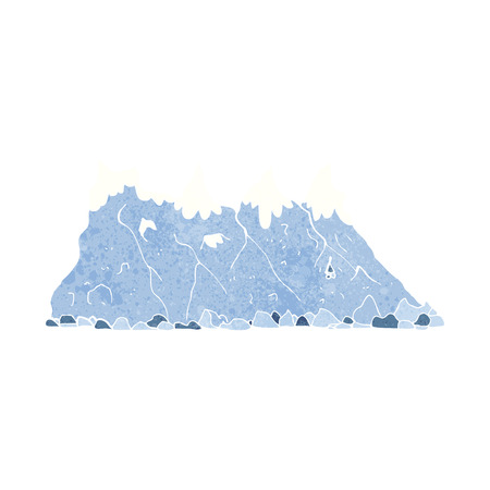 cartoon mountain range Vector