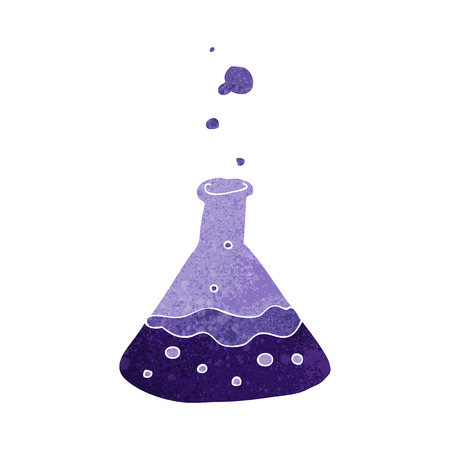 bubbling: cartoon science chemicals