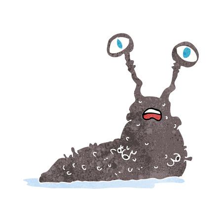 nacktschnecke: Cartoon Brutto slug
